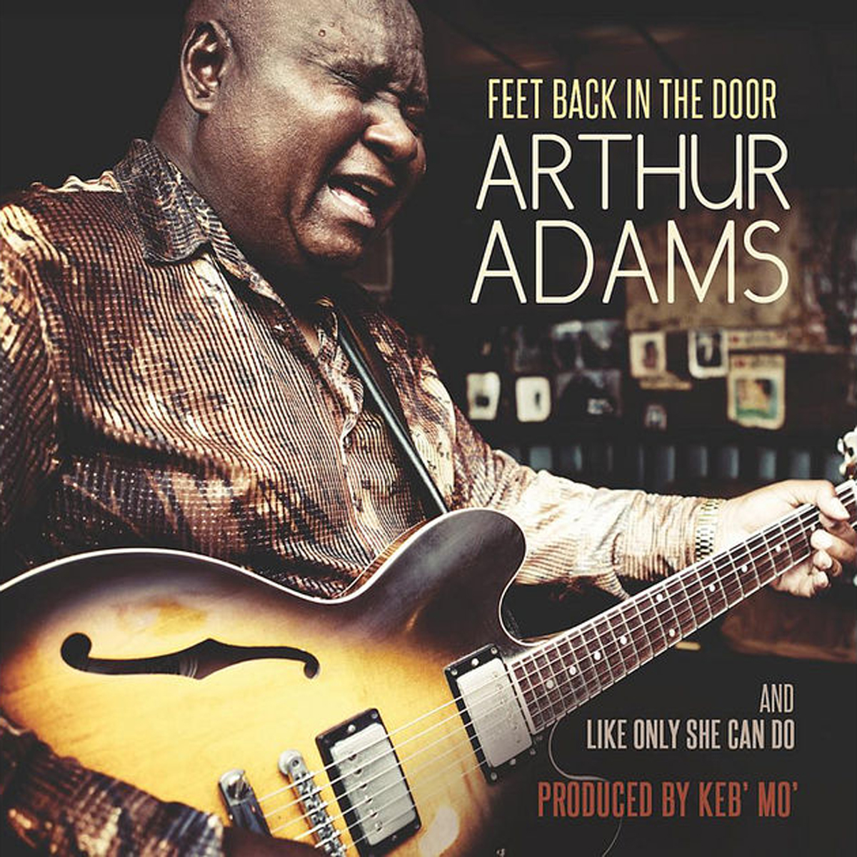 Arthur Adams - Feet Back In The Door
