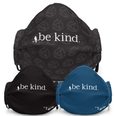 "Premium ""Be Kind"" Face Mask (3 colors)"
