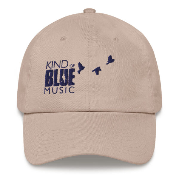 Kind of Blue Music embroidered hat