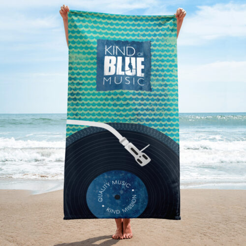 KOBM Beach Towel