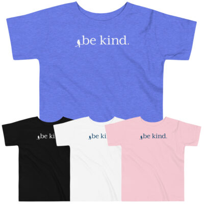 """Be Kind"" Toddler Tee"